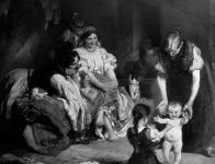Vágó Pál: Jár a baba című festménye