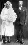 Esküvői fénykép a századelőről