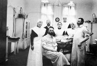 Orvosi rendelő a századelőn