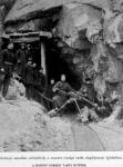 Alagút építése a mandzsuriai vasúton
