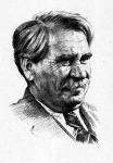 Móricz Zsigmondról készült grafika