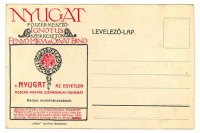A Nyugat levelezőlapja
