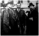 Az orosz küldöttek a genovai konferencián