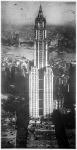 A legmagasabb newyorki felhőkarcoló, a  Woolworth building