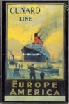 A Cunard Line plakátja