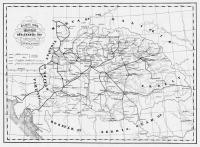 1. A Széchenyi javaslathoz tartozó átnézeti térkép (Forrás: Gróf Széchenyi István minden írása/Logod Bt)
