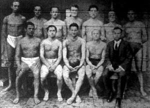 Az FTC vízipóló-csapata, mely 1922-ben megnyerte a német bajnokságot