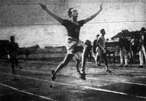 Gerő Ferenc győzelme 200 méteren