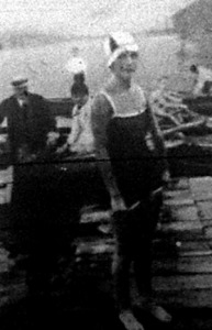 Teichmann Darinka úszónő