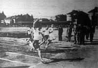 A 100 méteres döntő befutója