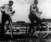 kerékpárpóló mérkőzés
