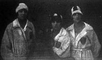 Az NSC hölgystafétája - Kraszner Kató, Komáromi Márta és Dénes Irén