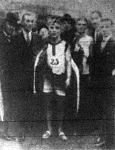 Király Pál, a marathoni futás győztese