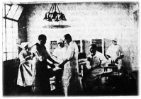 Szövetkezetek Erzsébet-kórházának műtőterme