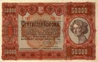 50 000 koronás államjegy (előoldal)