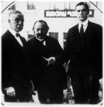 O. H. Kahn amerikai bankár és Krausz Simon az Angol-Magyar Bank alelnöke
