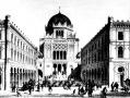 Feszl Frigyes terve a Dohány utcai zsinagógához