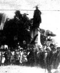 Ünnepély a budapesti Washington-szobornál