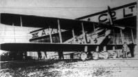 A világ legnagyobb repülőgépe, a Napler-féle kettősfedelű