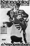 Egy régebbi Zerkovitz operett plakátja