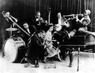 King Oliver és az ő Creole Jazz band-je  - Chicago,1923