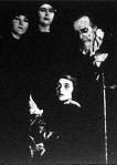 Maeterlinck misztériumának előadása a Zeneakadémián  - Kerékgyártó Olga,  Gárdos Nelly, Baló Elemér,  Tubay Sári