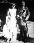 Vilmos volt német császár és neje