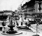 Liszt Ferenc tér 1896-ban