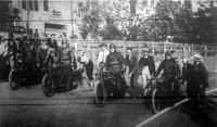 A nemzetközi motorvezetéses verseny startja