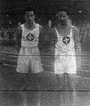 Scherer és Reinie svájci atléták a KAOE versenyén