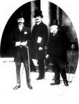 Bethlen, Kállay és gróf Szapáry László Bonar Lawhoz értekezletre mennek