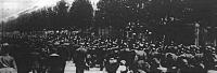 Katonák átvonulása Berlinben