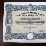 Magyar Nemzeti Bank 100 aranykorona részvény (1924)