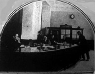 A Magyar-Amerikai Bank pénztárterme