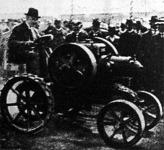 Hengeres petróleum-traktor