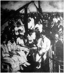 A KANSZ vasuti tisztviselők kirándulása Visegrádra 1921-ben.