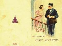 Boldog új évet, 1925!