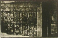 A szent sír becsukott szárnyas kapuja(Tuthankamen)