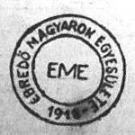 Az Ébredő Magyarok Egyesületének jelvénye