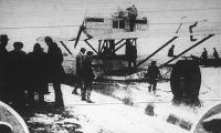 Amundsen repülőgépe Pizában