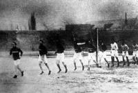 A párizsi olimpiászra készülő futballistáink tréningje