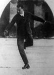 Jaross Pál, a férfi műkorcsolyázás győztese