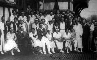 A bajnoki teniszverseny résztvevői