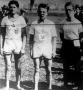 Az ezévi mezei futóbajnokság első három helyezettje - Csekey (2), Király (1), Kultsár (3)