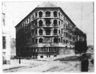 Állami bérház Budapesten a Márvány-utcában.