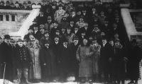Az Országos Magyar Gazdasági Egyesület 1925. évi országos kongresszusának résztvevői.