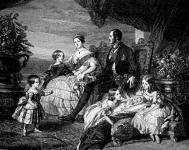 Viktória és családja