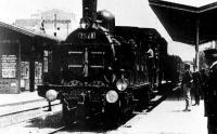 A kép, Lumiere-ék A vonat érkezése című filmjéből való (1895)