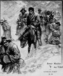 Tibeti expedíció 1900-ban -  a képen Sven Hedin földrajztudós és csapata látható