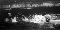 Vértesi harca a belga csapat kapusa ellen